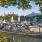 Stadt Salzburg mit Festung Hohensalzburg