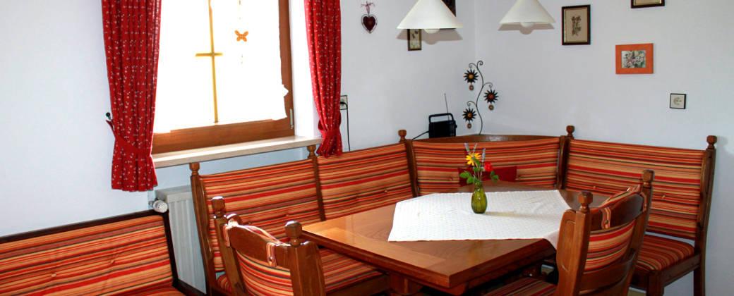 Wohnküche Ferienwohnung Edelweiß